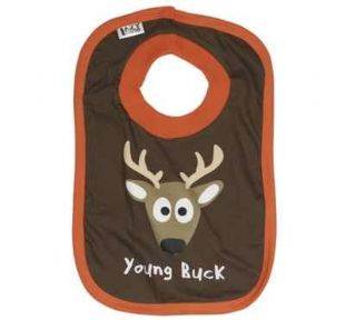 Lazyone Boys Young Buck Baby Bib